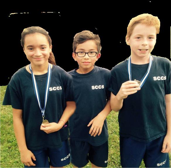 SCCS cross country runners earn medal standings.