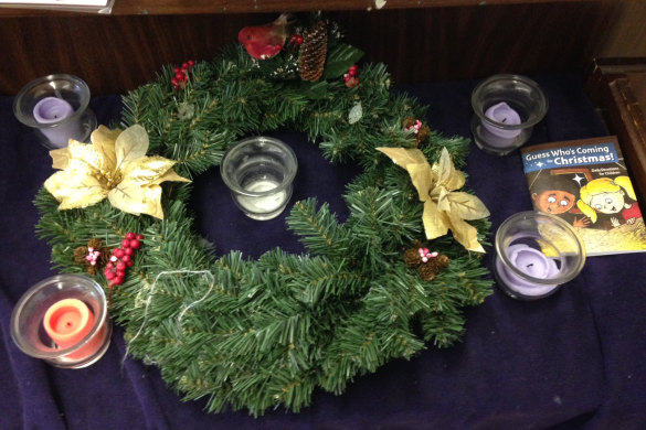 Classroom Advent Wreath